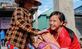 Quỹ Hy vọng trao quà Tết cho người dân biên giới