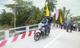 Hai cây cầu Hy Vọng mới đem niềm vui cho người dân Cần Thơ