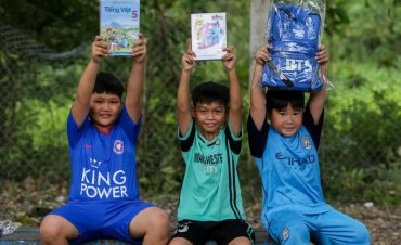 Quỹ Hy Vọng trao quà năm học mới cho trẻ em vùng biên