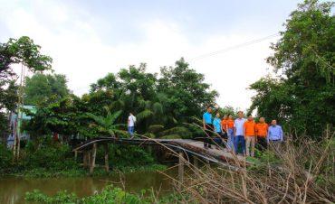 Cây cầu mang tên anh hùng phi công Nguyễn Văn Bảy