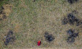 Cuộc sống trên những mảnh ruộng cằn nơi biên giới
