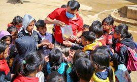 Quỹ Hy vọng ăn tết cùng trẻ em vùng sạt lở
