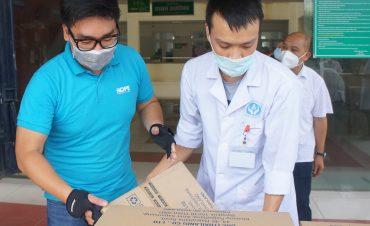 Quỹ Hy vọng tiếp sức lần 4 cho tâm dịch Bắc Giang