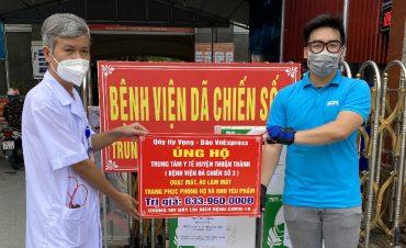 Quỹ Hy vọng tặng 2.000 đồ bảo hộ cho tâm dịch Bắc Ninh