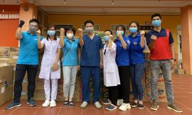 Quỹ Hy vọng tiếp sức cho đoàn tình nguyện ở Bắc Giang