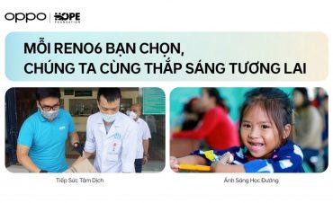 Oppo đồng hành cùng quỹ Hy vọng 'thắp sáng tương lai'