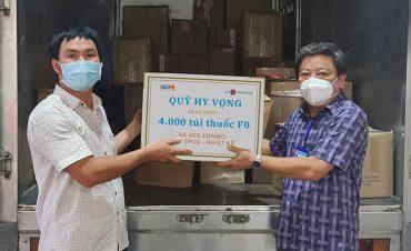 20.000 túi thuốc giúp F0 an tâm điều trị tại nhà