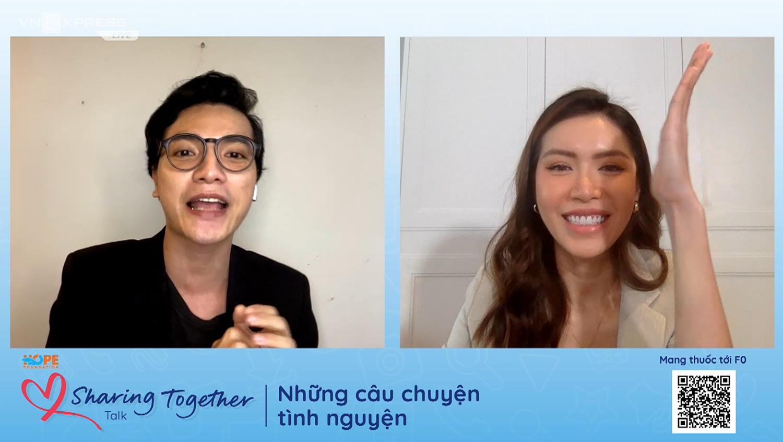 Siêu mẫu Minh Tú ủng hộ chương trình 'Túi thuốc F0'